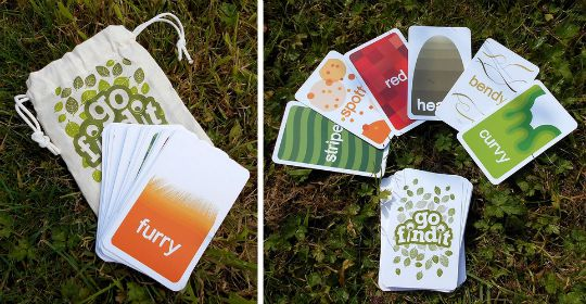 gofindit: Outdoor Nature Treasure Hunt Game £8.75 @ Amazon