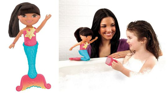 Dora The Explorer Dive & Swim Mermaid Doll £8.99 @ Argos