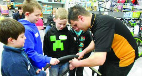 Children's Bike Workshops For 7-11 Year Old's @ Halfords