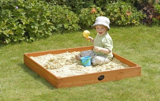 63% Saving On Plum Junior Wooden Sand Pit £14.99 @ Amazon Seller Buy-For-Less-Online