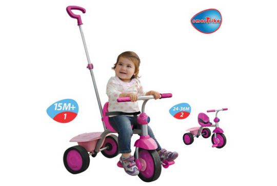 2-in-1 Pink SmarTrike £12.04 (was £29.99) @ Amazon
