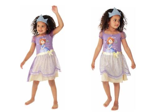 Disney Princess Sofia Nightdress & Crown now £4.99 @ Argos