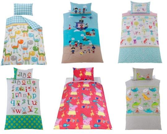 Toddler Duvet Cover Sets from £4.99 @ Argos