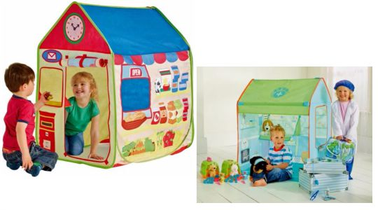 Chad Valley 2-in-1 Post Office/Vet Play Tent £9.99 @ Argos
