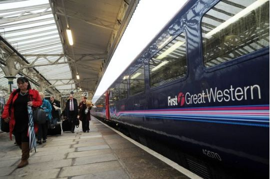 First Great Western Train Strikes Over August Bank Holiday
