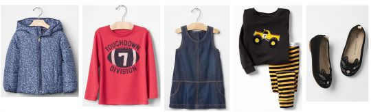 Up to 50% Off In The 'Big Back To School Stock Up' Sale @ GAP