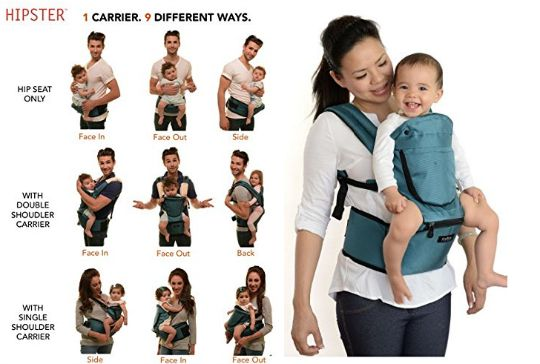 Miamily Hipster Baby Carrier £50 Delivered @ Amazon