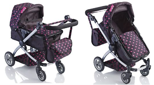 66% Off Molly Dolly Babyboo Deluxe 2 In 1 Stroller & Pram Now £16.99 @ Amazon Seller net_price_direct