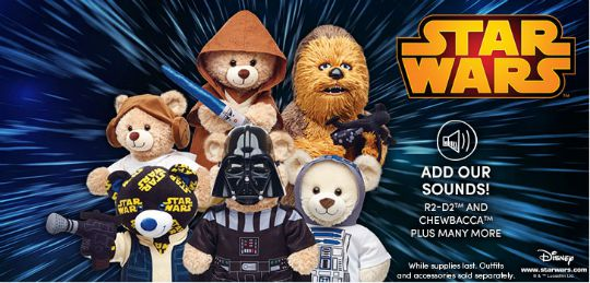 NEW Star Wars Bears @ Build-A-Bear Workshop