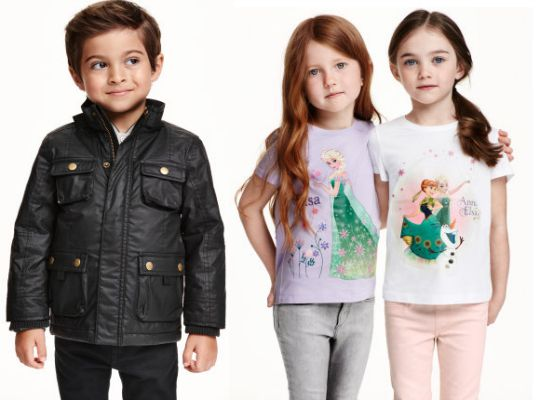 Up To 50% Off Selected Childrenswear @ H&M
