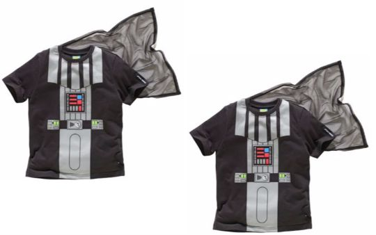 Star Wars Boys' Novelty Top & Cape £3.99 @ Argos