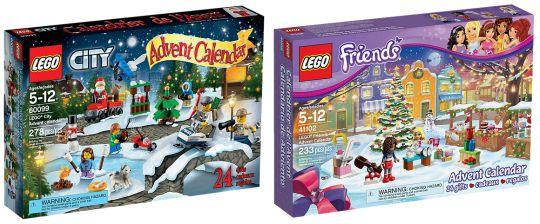 2015 LEGO Advent Calendars Available NOW @ Lego Shop