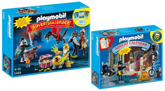 Playmobil Christmas Advent Calendar: Dragons Treasure Battle/Police £9.96 @ Amazon/Toys R Us
