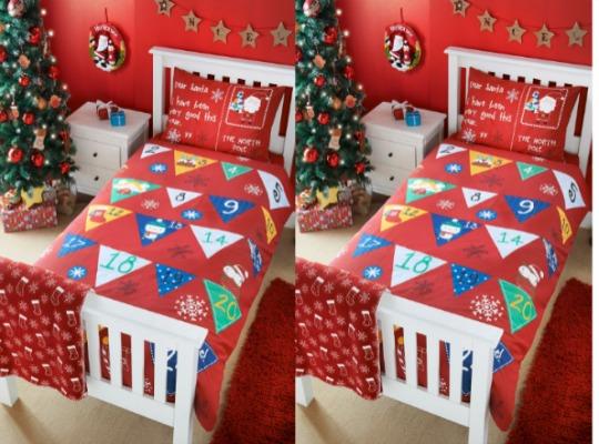 Christmas Advent Calendar Duvet Cover £14 @ Matalan