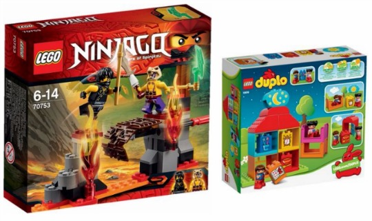 Up To 25% Off Selected Lego Sets @ Argos