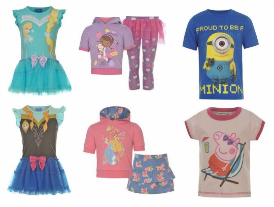 FLASH SALE On Character Clothing From £1 @ Sports Direct