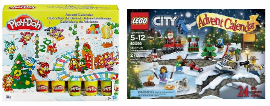 QUICK! Play-Doh/Lego Advent Calendars Reduced @ Amazon