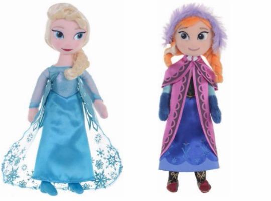 "Disney Frozen Anna/Elsa 10"" Dolls £7.49 @ Argos"