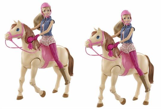 25% OFF Barbie Saddle-n-Ride Horse £37.49 @ Amazon