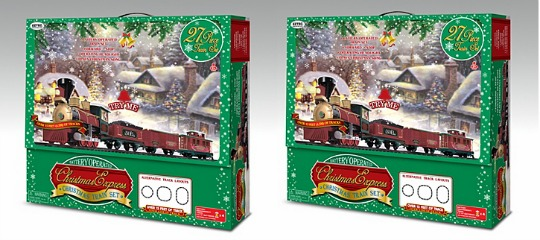 Battery Operated Christmas Express Train Set £30 (was £50) @ Asda George