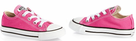 50% Off Converse Chuck Taylor All Stars Pink Trainers Now £12.49 @ Surfdome