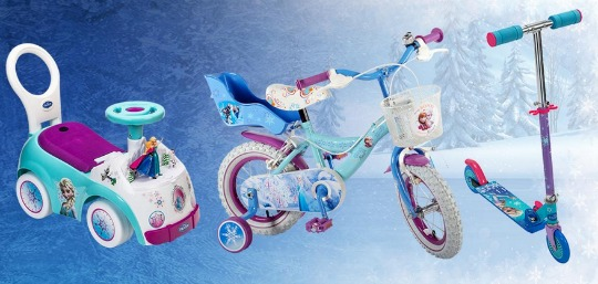 20% Off Disney Frozen Bikes, Scooters and Ride-Ons @ Smyths Toys