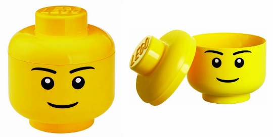 2 For £15 Small LEGO Storage Head's @ Smyths
