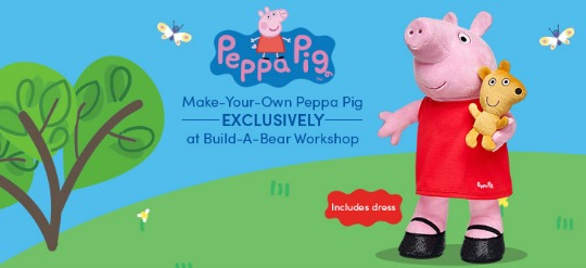 NEW Make-Your-Own Peppa Pig Exclusively @ Build-A-Bear