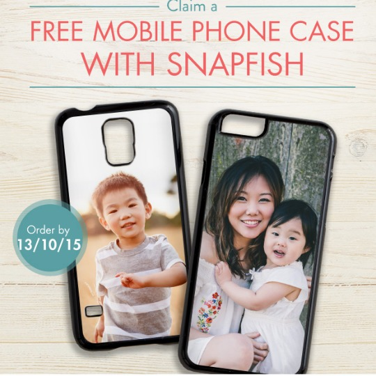 FREE Personalised Photo Phone Case Just Pay £1.99 For Delivery @ Snapfish