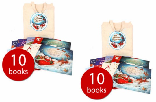 Christmas Picture Book Collection (10 Books In A Bag) £8.49 with code @ The Book People